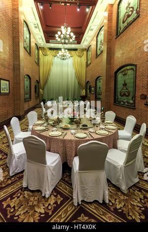 Shanghai, Chine - mars 2, 2017: l'intérieur de l'Astor House hotel, un célèbre monument de Shanghai. Cet hôtel Banque D'Images