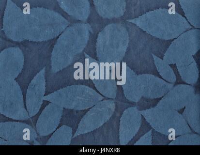 Fond papier fait main avec des textures et de silhouettes. Vieux papier fond sale. Fleur fait main feuille de papier. Banque D'Images