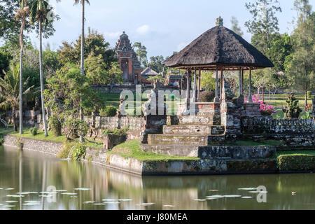 Temple Royal de Mengwi, Pura Taman Ayun Temple, Bali, Indonésie, Asie Banque D'Images