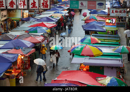 Fa Yuen Street Market (rue), Sneaker Mong Kok, Kowloon, Hong Kong, Chine Banque D'Images