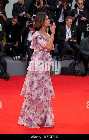 Venise, Italie. 2Nd Sep 2017. lors de la première du film Suburbicon à la 74e Festival du Film de Venise, la Sala Banque D'Images