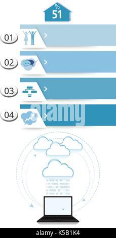 Les éléments graphiques de la communication Banque D'Images