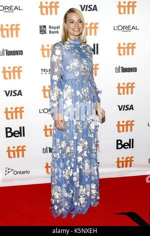 Margot robbie assistant à l 'i, Tonya' premiere au cours de la 42e festival international du film de Toronto au Banque D'Images