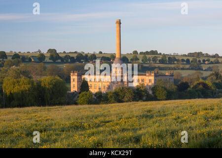 Bliss Moulin en début de matinée, soleil, Cotswolds Chipping Norton, Oxfordshire, Angleterre, Royaume-Uni, Europe Banque D'Images