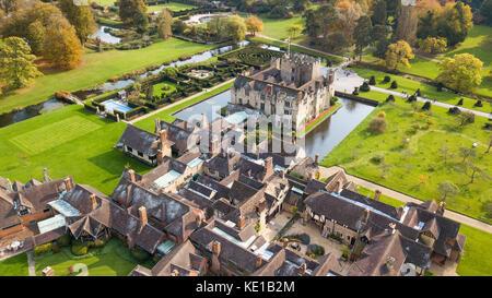 Chambres d'hôtes Château de Hever, le château de Hever, Kent, UK Banque D'Images