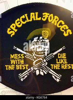 Forces spéciales patch, NYC, usa Banque D'Images