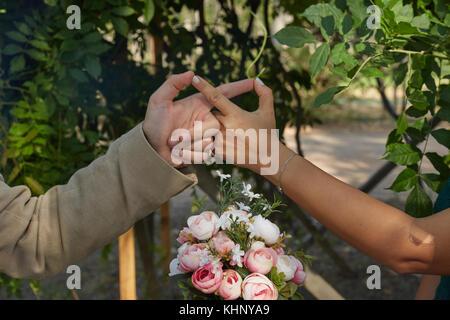 amour pour toujours Banque D'Images