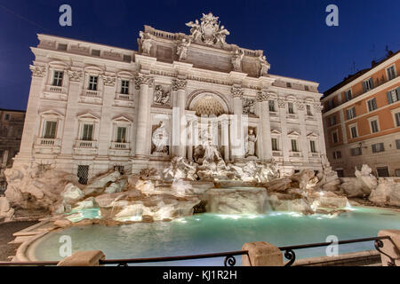 Fontaine Tevi Rome - Fontana di Trevi, Rome Banque D'Images