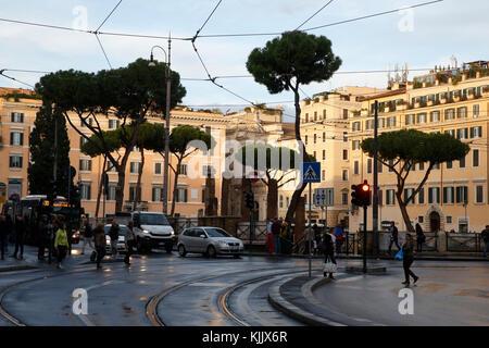Largo di Torre Argentina, Rome. L'Italie. Banque D'Images