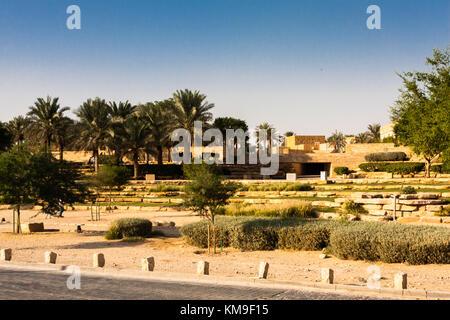Parc Diriyah, Riyadh, Arabie Saoudite Banque D'Images