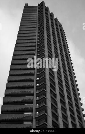 Le Barbican, Londres, Angleterre. Banque D'Images