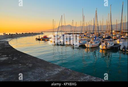 Gordons Bay de l'ouest du Cap est l'un des plus beaux endroits sur terre bénéficiant de statut de site du patrimoine Banque D'Images