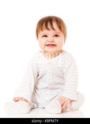 Petit enfant heureux. Banque D'Images