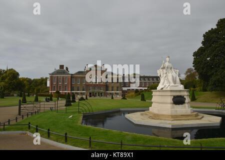 Le palais de Kensington, Londres, Angleterre, le 4 octobre 2017 Banque D'Images