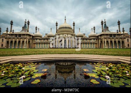 Pavillon de Brighton, UK prises en 2015 Banque D'Images
