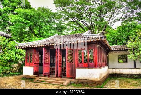 Humble Administrator's Garden, le plus grand jardin de Suzhou Banque D'Images