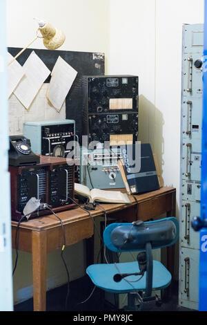 L'échange d'approches de l'ouest de Liverpool Drapeaux AC LA DEUXIÈME GUERRE MONDIALE Seconde Guerre mondiale Derby House museum CITADELLE Citadelle Forteresse de soute ou communications de la forteresse Banque D'Images