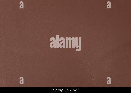 La texture de cuir brun élégant. Photo haute résolution. Banque D'Images