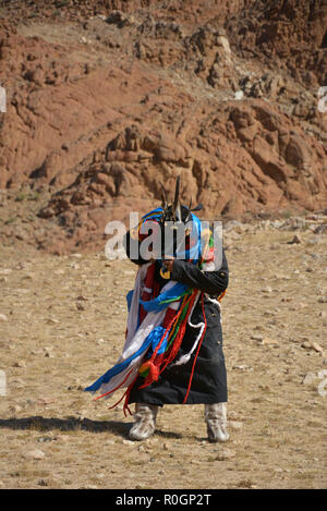 L'ouest de la Mongolie Banque D'Images