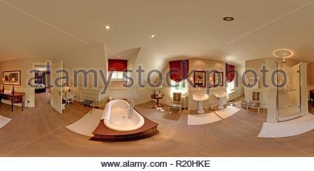 Home intérieur 360° en très bonne qualité. Banque D'Images