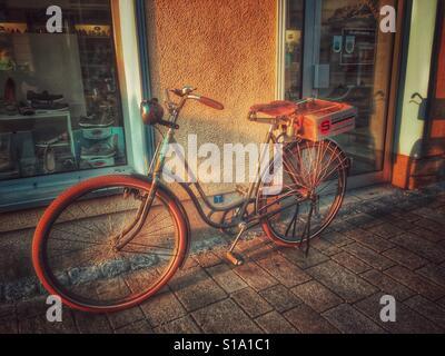 Vélo rétro Banque D'Images