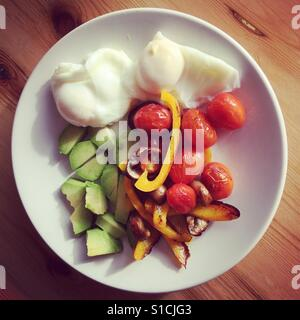 Petit-déjeuner sain Banque D'Images