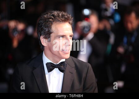 CANNES, FRANCE - 21 MAI 2017: Ben Stiller assiste à la 'Meyerowitz Stories' au 70e Festival de Cannes (Photo: Mickael Chavet) Banque D'Images