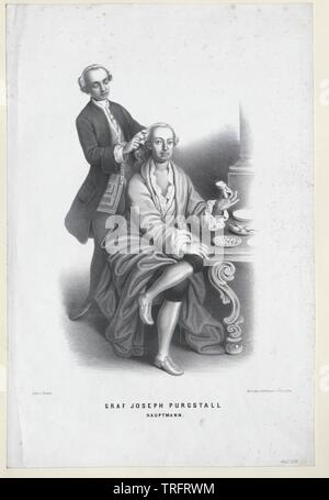Purgstall, Joseph, comte von Additional-Rights Clearance-Info-Not-Available- Banque D'Images