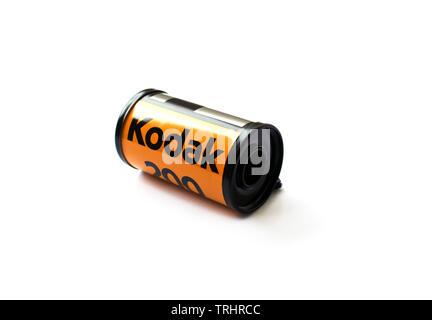 Rouleau de film Kodak 200 caméras pour l'ancien modèle Banque D'Images