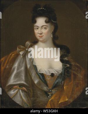 Maria Aurora von Königsmarck, 1662-1728, Comtesse, peinture, huile sur toile, hauteur, 79 cm (31,1 po), largeur, 46 cm (18,1 pouces) Banque D'Images