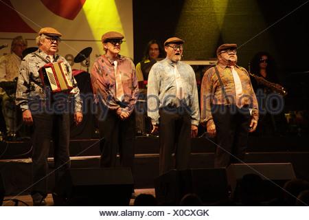 Geierabend allemand, comédie, carnaval de rechange de la Ruhr, capitale culturelle 2010 en Allemagne, Europe Banque D'Images