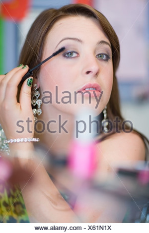 Teenage girl Banque D'Images