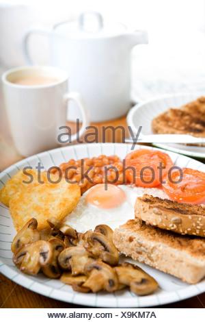 Petit déjeuner végétarien Banque D'Images