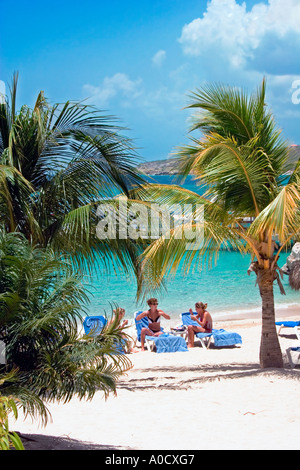 Piscadera Bay Curacao Netherlands Antilles Banque D'Images