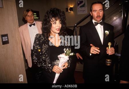 Joan Collins film actress Birmingham England 1995. Premier ministre de l'HOMER SYKES Banque D'Images
