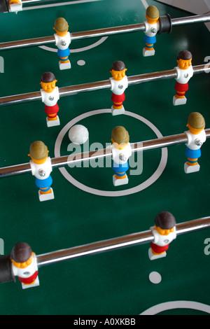 Jeu de Football Foosball Banque D'Images