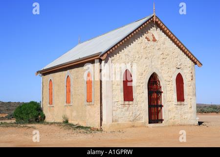 Église catholique construite en 1885 Silverton près de Broken Hill Australie Nouvelle Galles du Sud Banque D'Images
