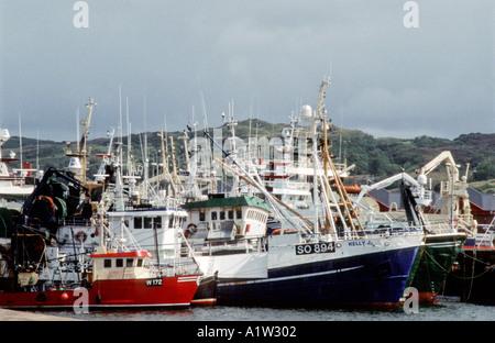 Port de pêche de Killybegs Co Donegal Irlande Banque D'Images