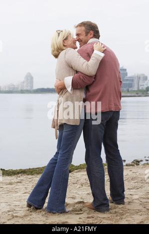 Couple Outdoors, Sunnyside Park, Toronto, Ontario, Canada