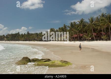 Thaïlande Ko Pha Ngan Phangan Hat Rin Haad Rin sunrise beach Banque D'Images