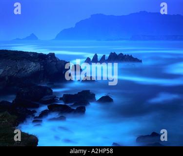 IE - comté de Kerry: Ballyferriter Bay Banque D'Images
