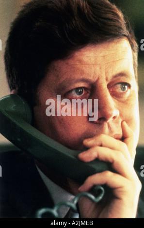 Le président américain John F. Kennedy Banque D'Images