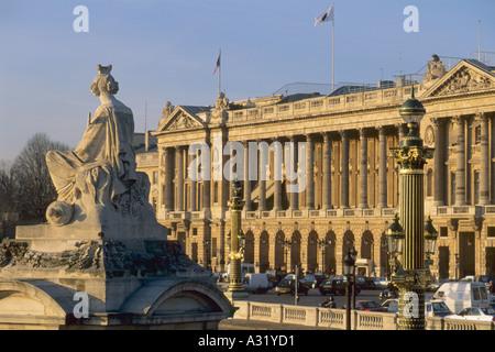 France Paris Place de la Concorde Banque D'Images