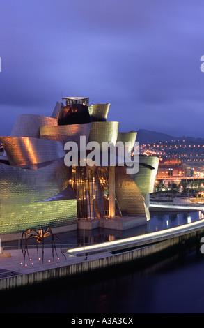 Le Musée Guggenheim - Bilbao, Pays Basque, Espagne Banque D'Images
