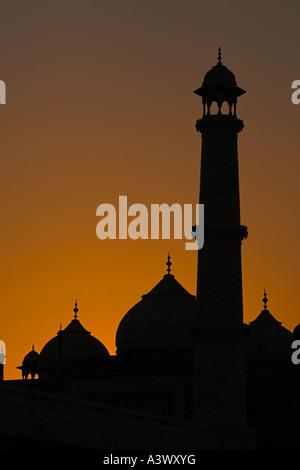Taj Mahal, Agra. - Inde Banque D'Images