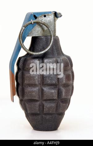 World War 2 Grenade Ananas Banque D'Images