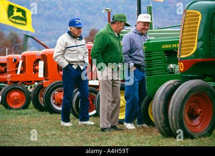 Tracteur antique, les petits moteurs et machines Show, Fulton County Fairgrounds, Pennsylvania, USA, Banque D'Images