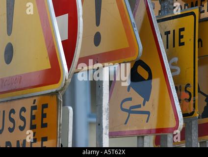 Signalisation routière Banque D'Images