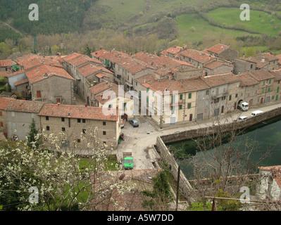 AJD35087, Toscane, Italie, Santa Fiora, Toscana, Europe Banque D'Images