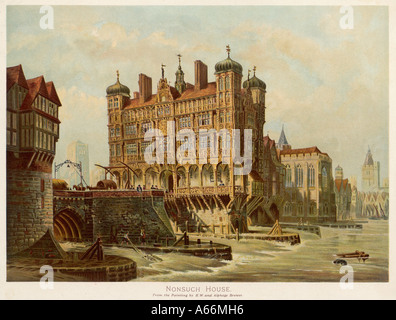 London Bridge Nonsuch Hs Banque D'Images